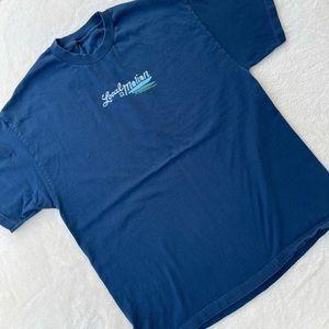 Local Motion Boardriders T-Shirt Tee Blue XL